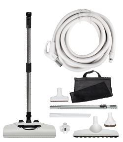 Complete 360 Central Vacuum Kit